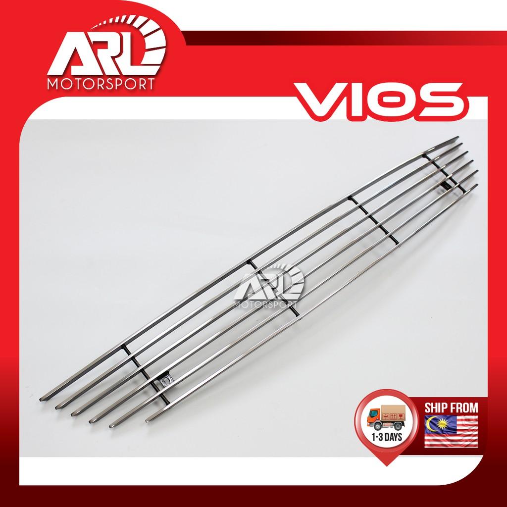Toyota Vios (2007-2012) NCP93 Aluminium Grill Lower Decoration Car Auto Acccessories ARL Motorsport