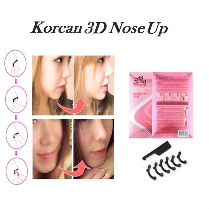 Korean 3d Nose Up Invisible Brace For A Sharper Nose