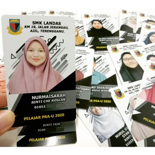 Kad Pelajar Tingkatan 6 Pra Universiti Shopee Malaysia