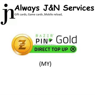 zGold-MOLPoints Direct Top-Up PIN (MY) / Razer Direct Top-up Pin (MY