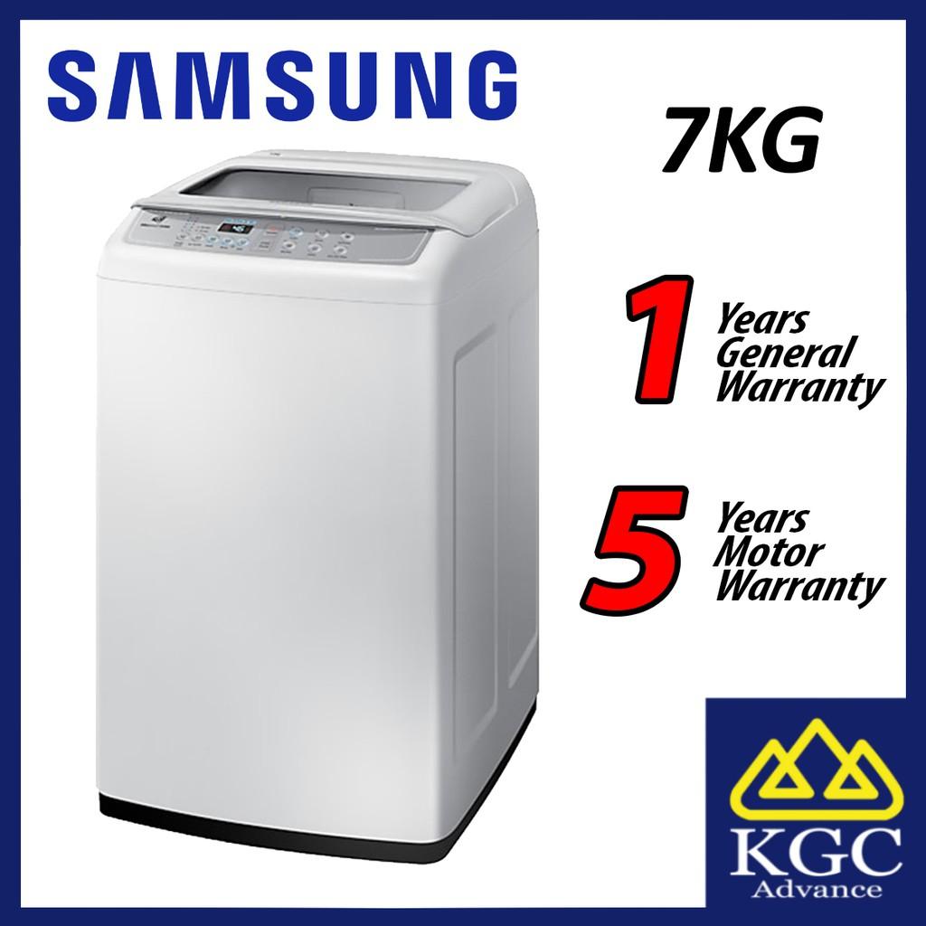 Samsung 7kg Wa70h4000sg Fq Mesin Basuh 洗衣机 Top Load Fully Automatic Washing Machine Shopee Malaysia