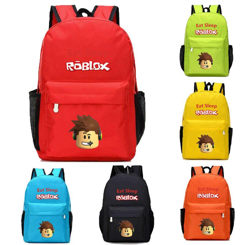 6bb1e56b1 Kids Boys Girls ROBLOX Bags Cartoon School Bag Children Student ...
