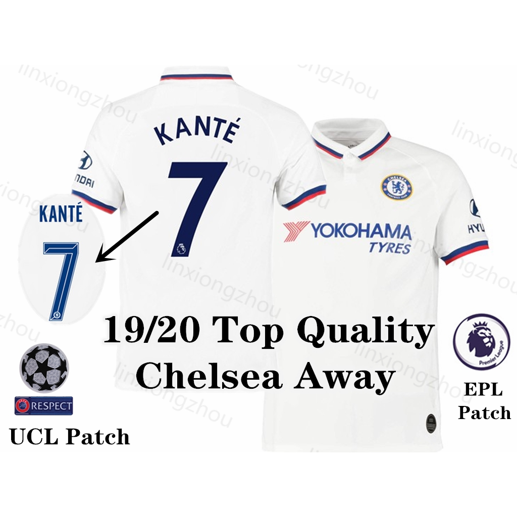 new arrival 3ec96 8fd9e Top Quality 19/20 Chelsea Away Jersi Soccer Jersey Football Jersey