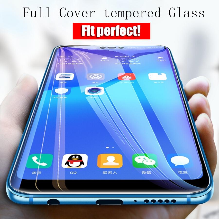JIANGNIUS Screen Protectors 25 PCS 9H 5D Full Glue Full Screen Tempered Glass Film for Huawei Nova 4