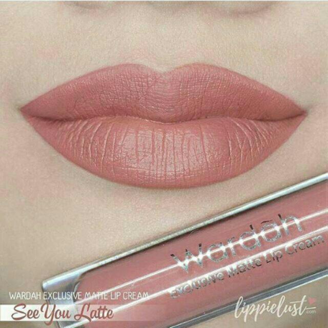 Wardah Exclusive Matte Lip Cream 4 g [18 Colours to Choose]   Shopee Malaysia