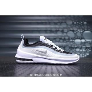 buy online 17107 9576e Original Nike Air Max Axis air men and women running shoes-Black White Gray    Shopee Malaysia