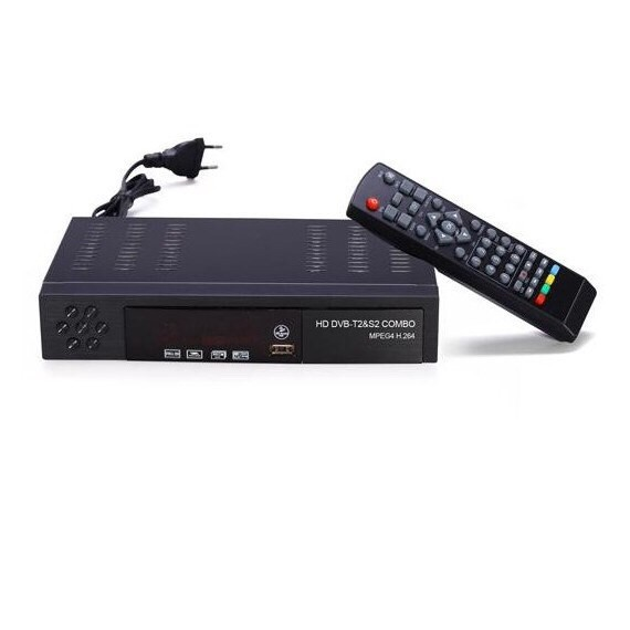 free shipping! Digital Satellite HD TV Receiver DVB T2&S2 Combo TV Box High  Definition