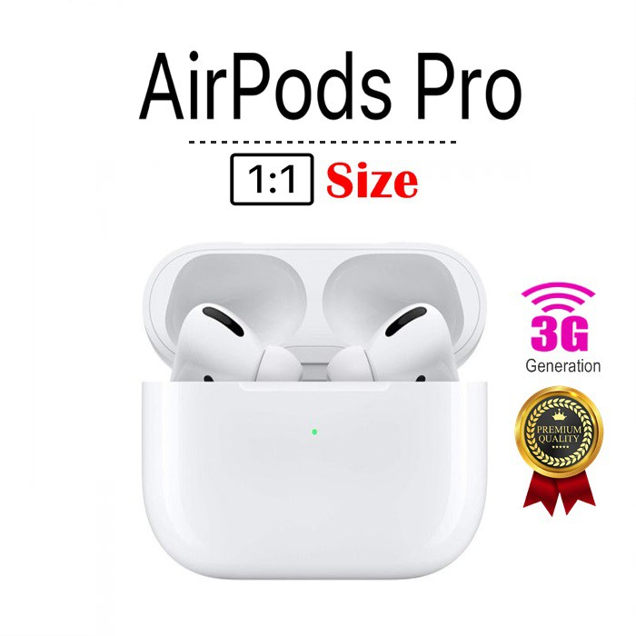AirPods Pro 1:1 Super-Copy Premium Quality Siri & Rename Positioning & Wireless Charge