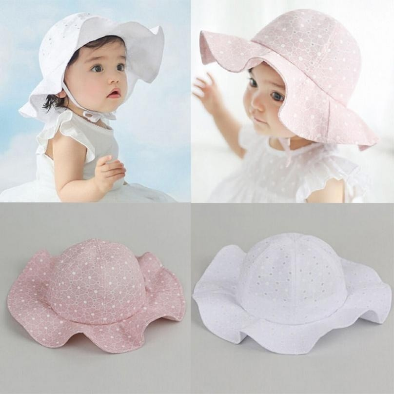 Active Autumn Spring Baby Sun Hat Girl Corduroy Infant Baby Hat Children Beach Bucket Cap Children Sunscreen Fisherman Hat Bigsweety Girls' Clothing