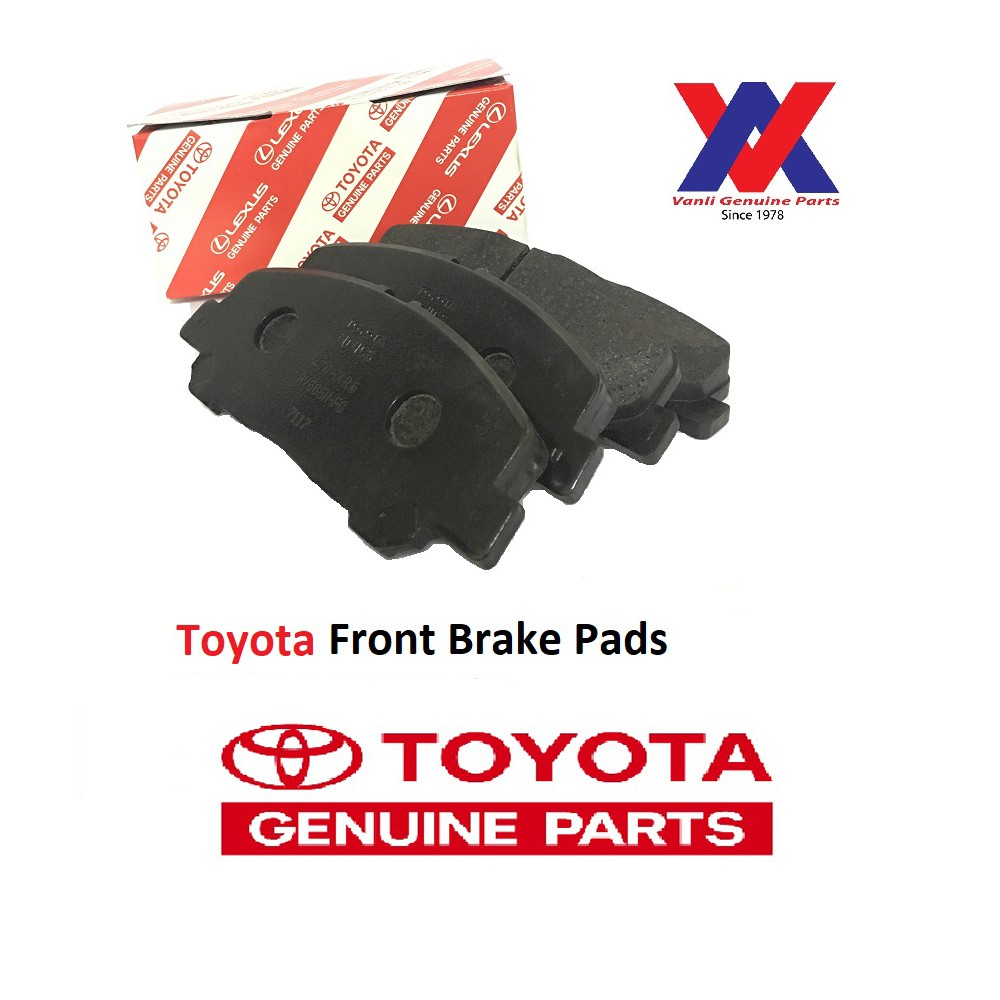 Toyota Brake Pads >> Front Brake Pads For Toyota Wish 2nd Gen Zge20