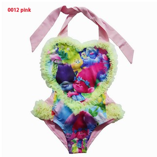 cc77d604b98 Trolls girls One-piece swimsuit character print Bathing suit sexy one piece  swim | Shopee Malaysia