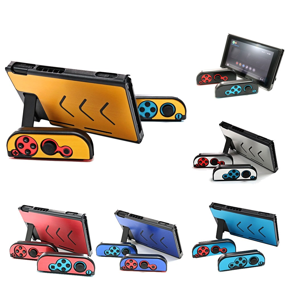 Back Case Shell Cover Stand for Nintendo Switch NS NX Joy-Con Console  Controller