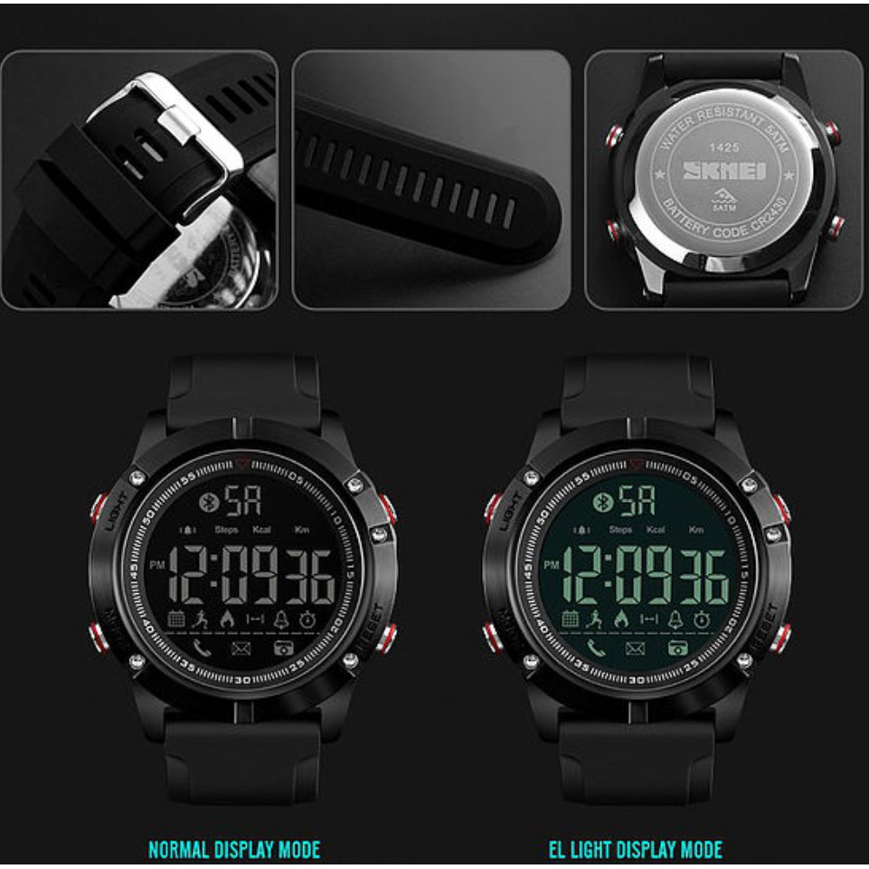 [LOCAL SELLER] SKMEI 1425 Bluetooth Smart Watch | Local Seller & Fast Delivery