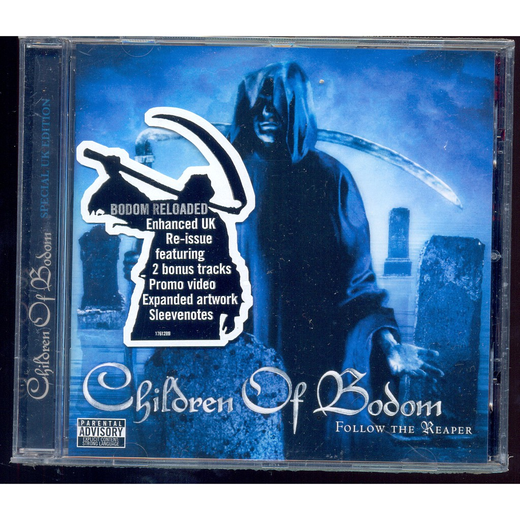 Children Of Bodom Follow The Reaper New Cd Shopee Malaysia
