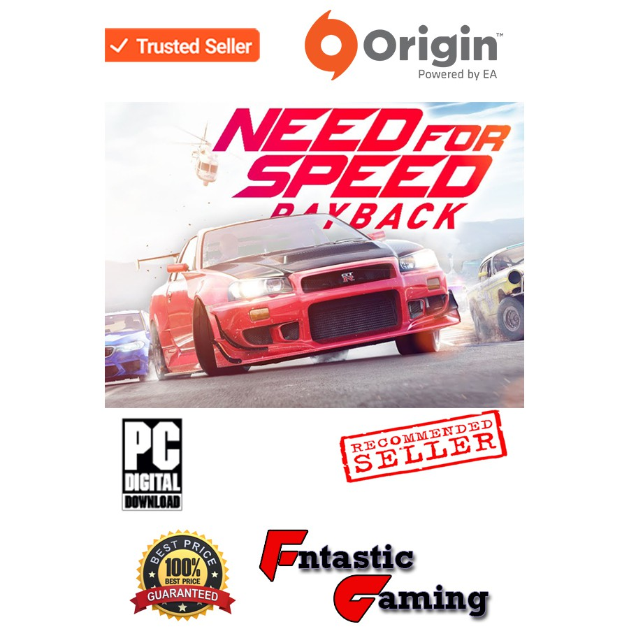 Pc Origin Need For Speed Payback Digital Download Shopee Malaysia