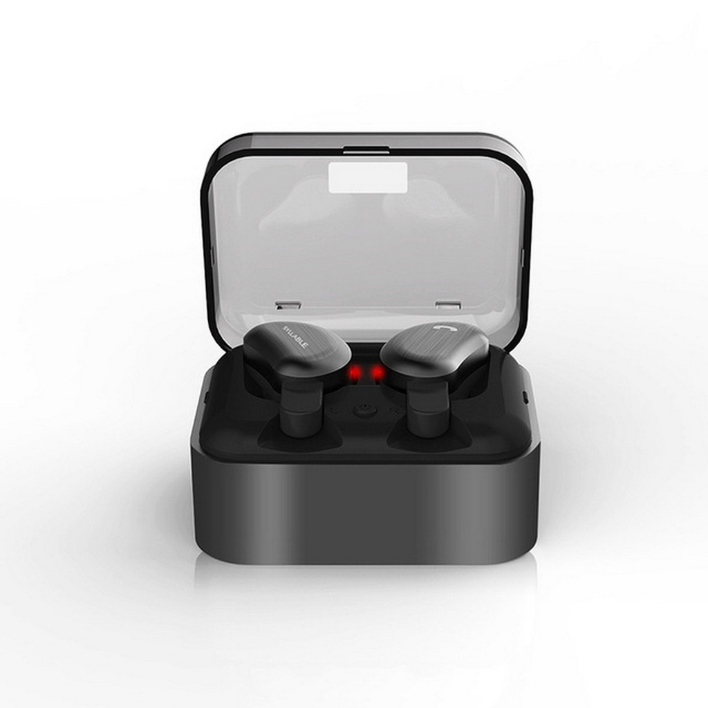 aaecb802cf7 ProductImage. ProductImage. SYLLABLE D9 TWS Bluetooth Earphone, True Wireless  Stereo Earbuds - Black