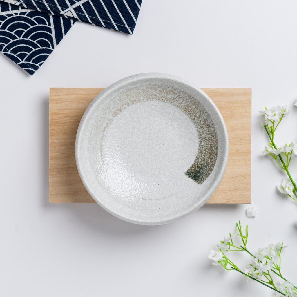 Kurashikku Series 16cm Suketchi And Jade Japanese Irregular Shape Vintage Art Ceramic Plate Pinggan 日式古典风陶瓷碟