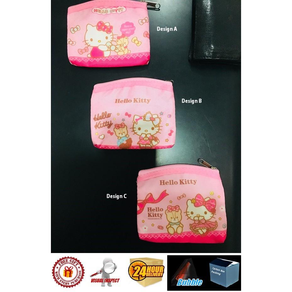 Hello Kitty Coin Purse Wallet