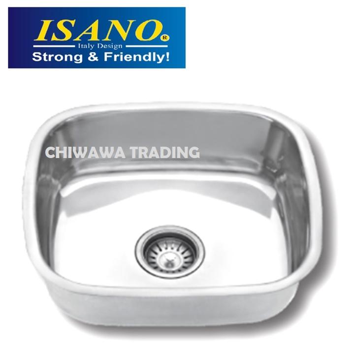 ISANO B08 Stainless Steel Kitchen Sink Bowl Basin Drainer