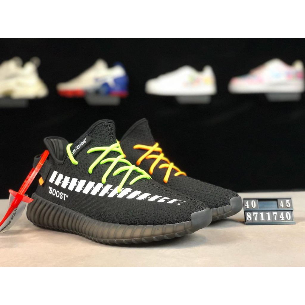 detailed look 7b625 dfc5c Clearance Custom Off White x Yeezy Boost 350v2id:711