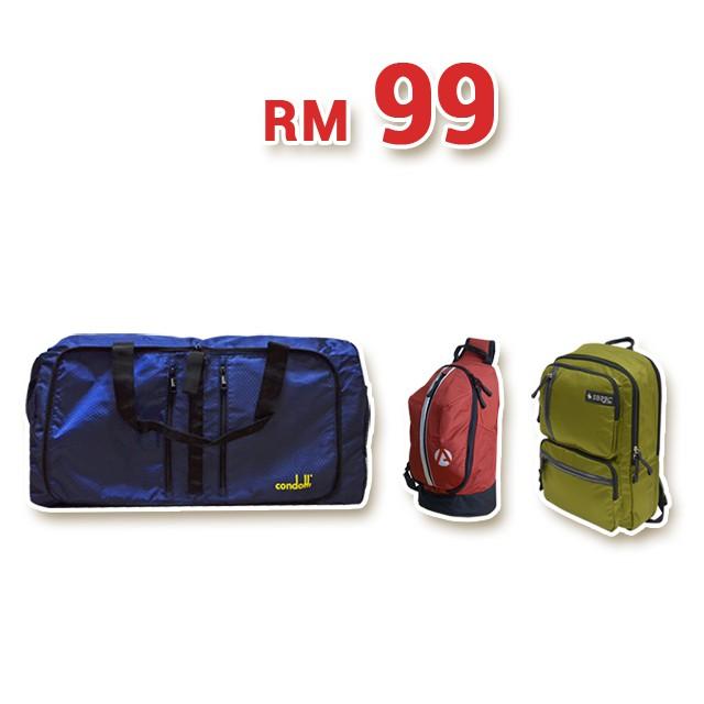 Condotti Foldable Traveling Bag