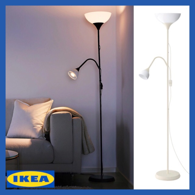 Ikea Not Floor Uplighter Reading Lamp