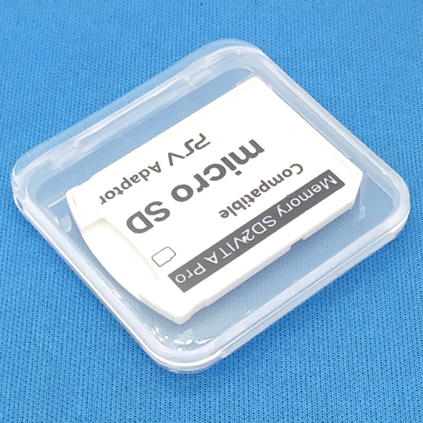 SD2VITA V5 0 PSVITA Micro SD Memory Card Adapter for PS Vita Enso Henkaku  3 60