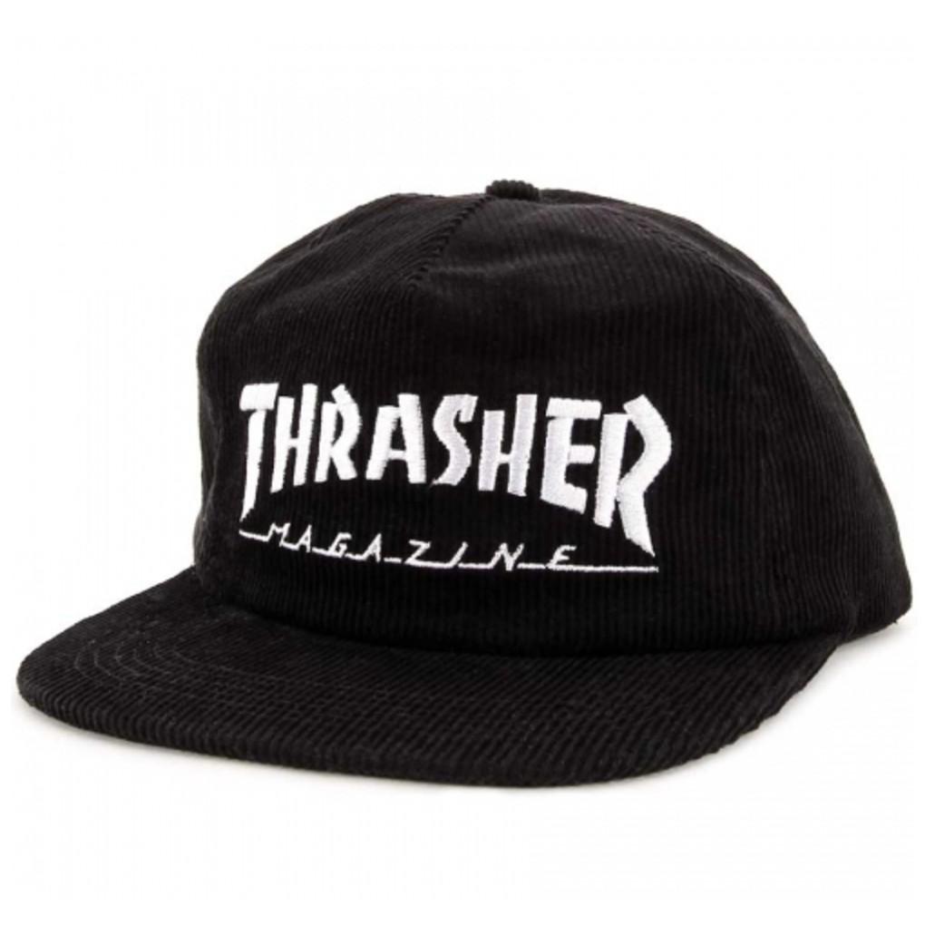578161ea7ef Thrasher Skategoat Wool Blend Snapback Black