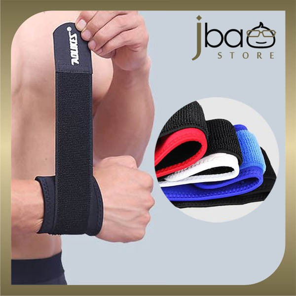 Aolikes Wrist Support Strap Brace Wristband Sport Fitness Gym Protector (1PC)