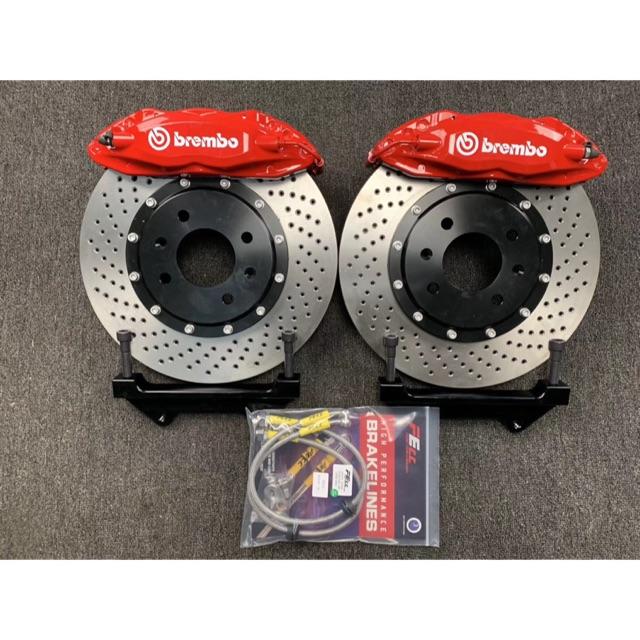 Brembo Front Brake Kit Ceramic Pads Disc Rotors Set for Honda Odyssey 2005-2010
