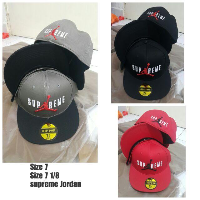 Full cap Supreme Jordan  16c3d07f78b