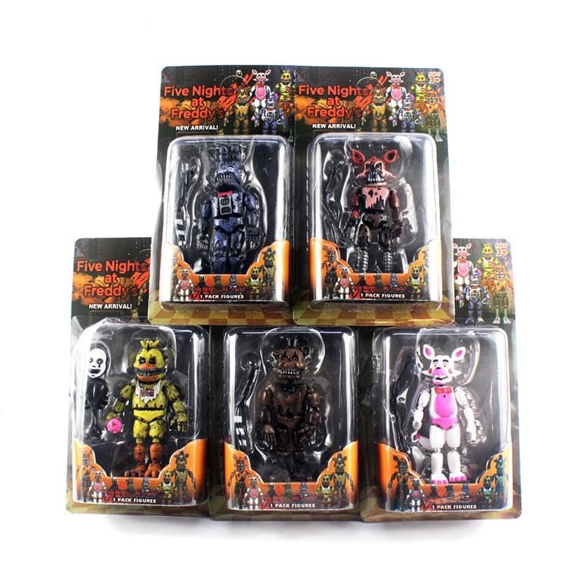 4PCS//gift set 2 Fortnite Series Action Figure Toys Gift Blister Box Packaging