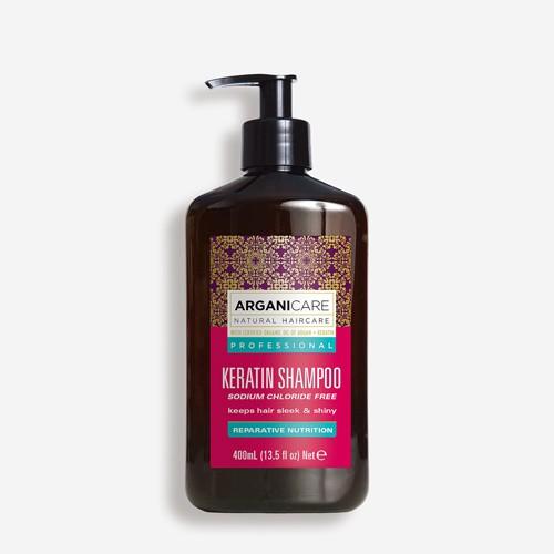 ARGANICARE Argan & Keratin Shampoo 400ml