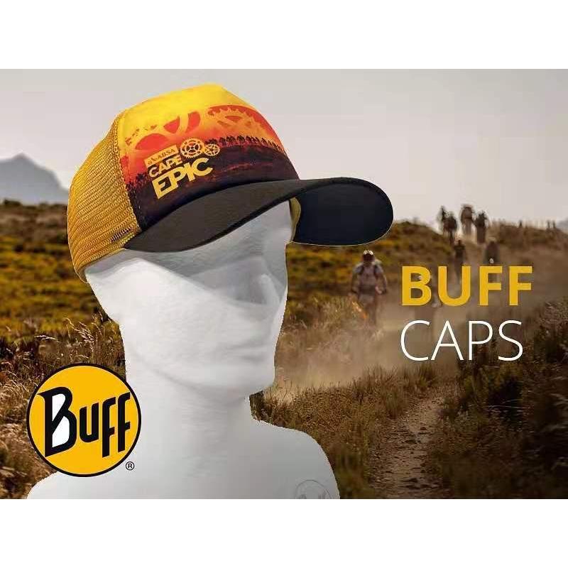 Original Buff Trucker Eucalyptus Nut Cap Buff