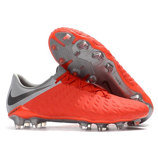 check out 26682 010e5 NIke Hypervenom Phantom III DF FG 3D knitting men's soccer football shoes