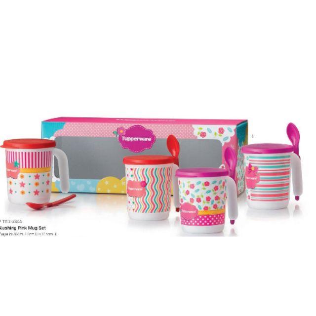 🔥LIMITED🔥 Tupperware Mug set (4)