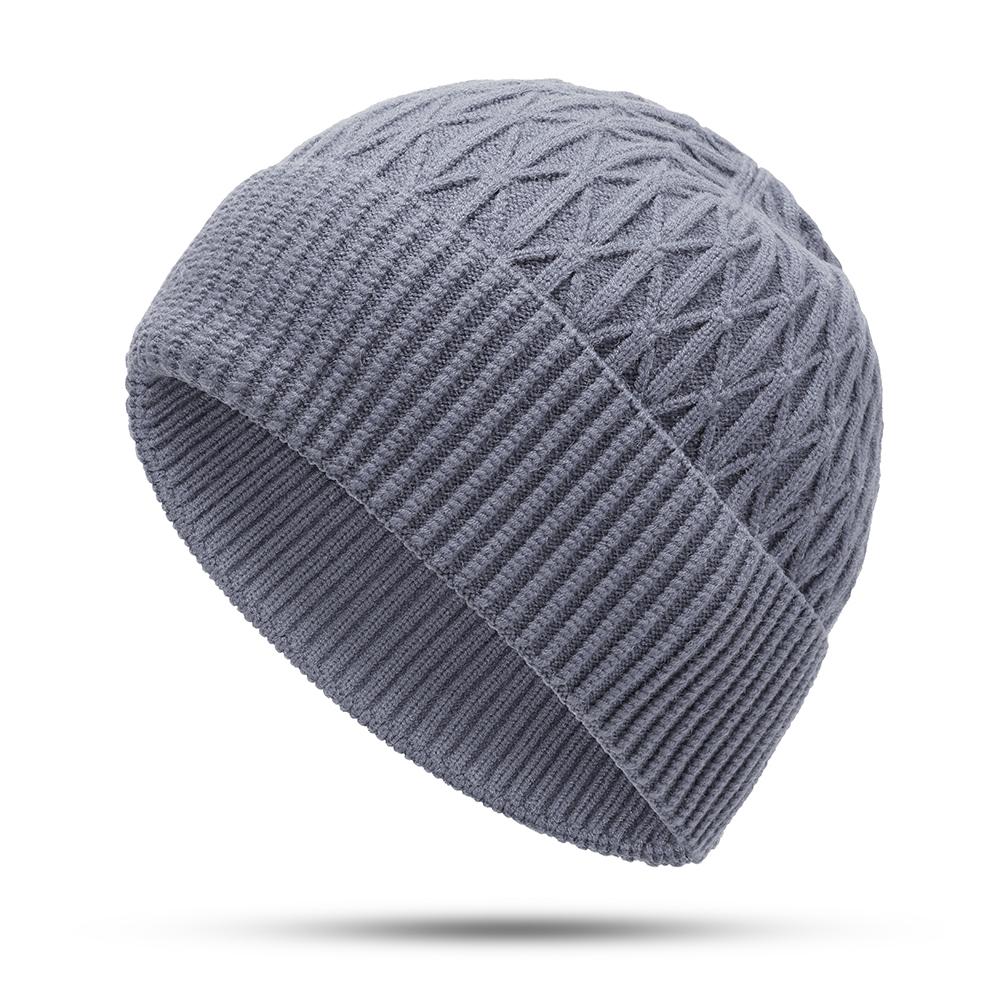 c58b67613f4cc8 Winter Windproof Knit Hat Scarf Set Outdoor Thicken Ski Earmuffs Beanie Cap  | Shopee Malaysia