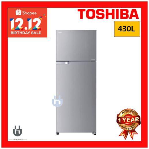 toshiba two door refrigerator inverter GR-A43MBZ (RS)