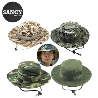 4bdfa75ac Sancy Camouflage Bucket Hats With Wide Brim Sun Fishing Bucket Hat ...