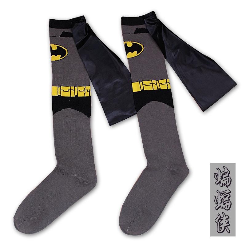 54c6d522e43 Batman Mid tube sock men socks cotton women handmade cloak sports socks