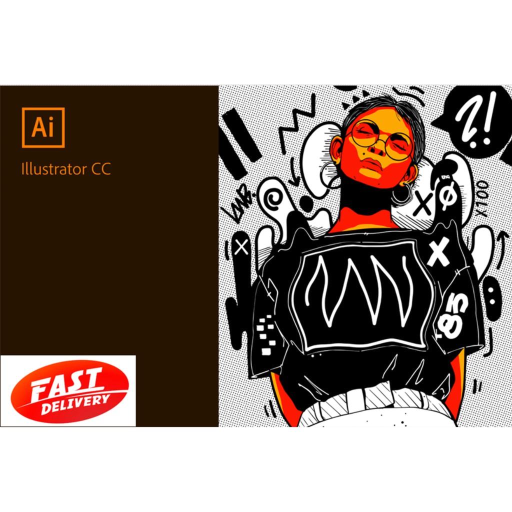 Adobe Illustrator CC 2019 Windows 64 bit 100% worked