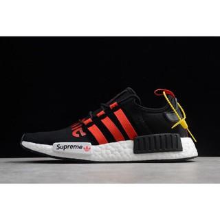 sprzedaż usa online fabrycznie autentyczne dobrze out x Supreme x adidas NMD R1 UK Black/Gym Red-White Price