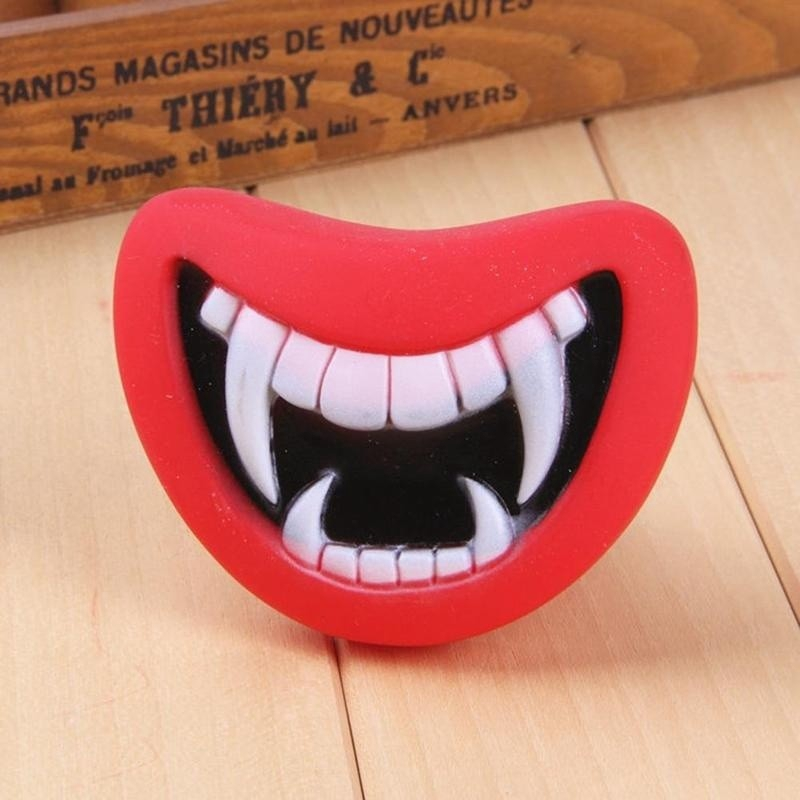 Dog Toys Devil's Lip Sound Dog Playing Chewing Toys