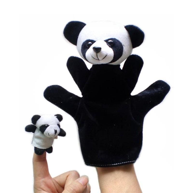 【 2 ชิ้น!! 】ตุ๊กตาหุ่นนิ้วมือลายสัตว์น่ารัก ของเล่นสำหรับเด็ก 2