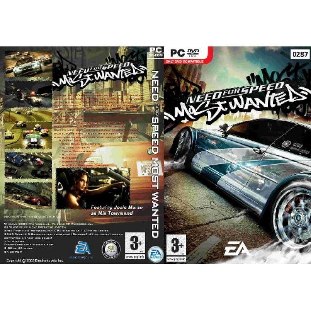 Hot Need For Speed Most Wanted Pc Games Shopee Malaysia