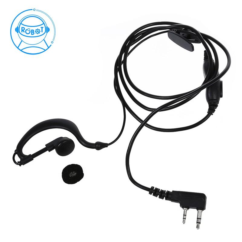 9b76450e0f19e Security Earhanger Headset Earpiece Earphone for Kenwood Radio Black