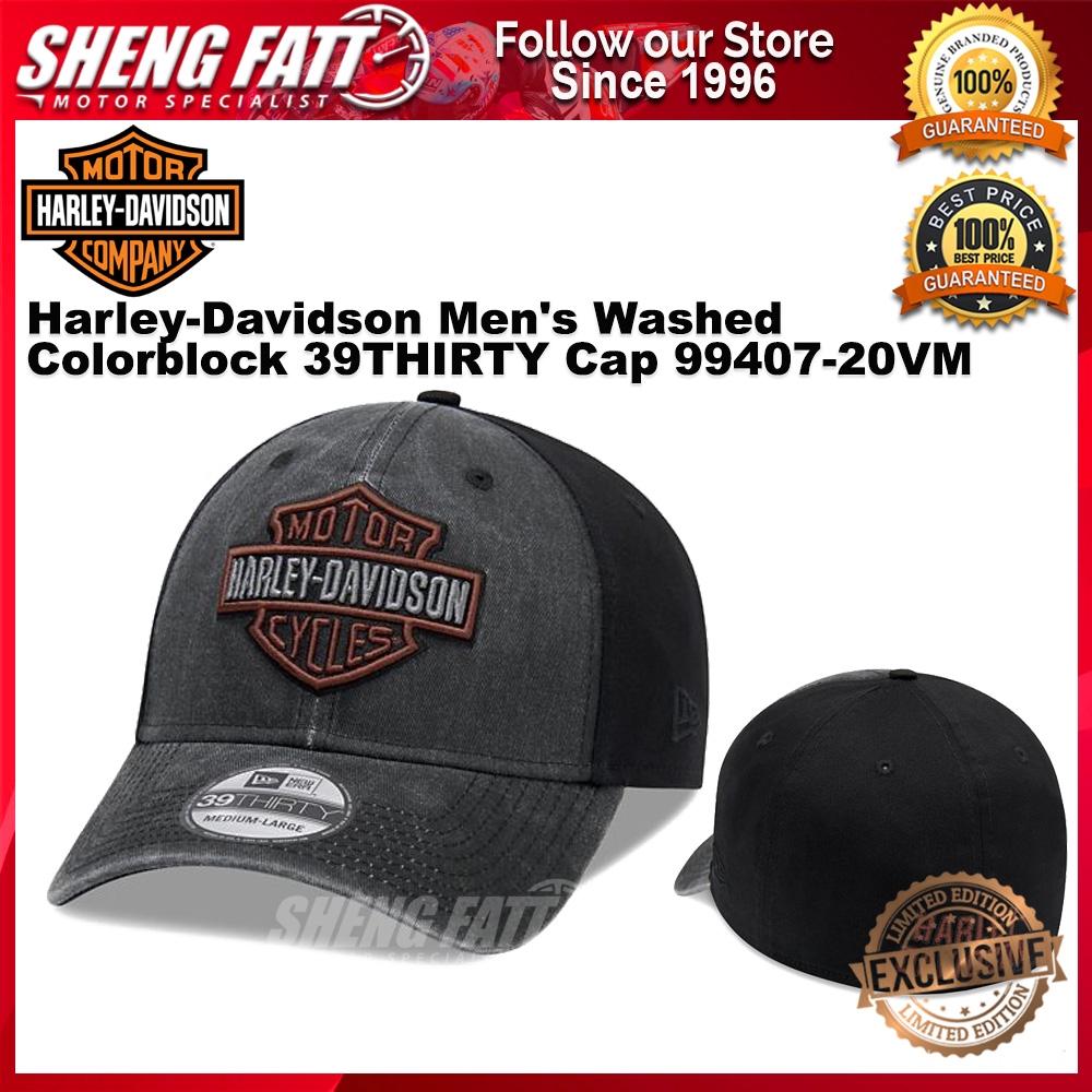 Harley-Davidson Men's Washed Colorblock 39THIRTY Cap 99407-20VM