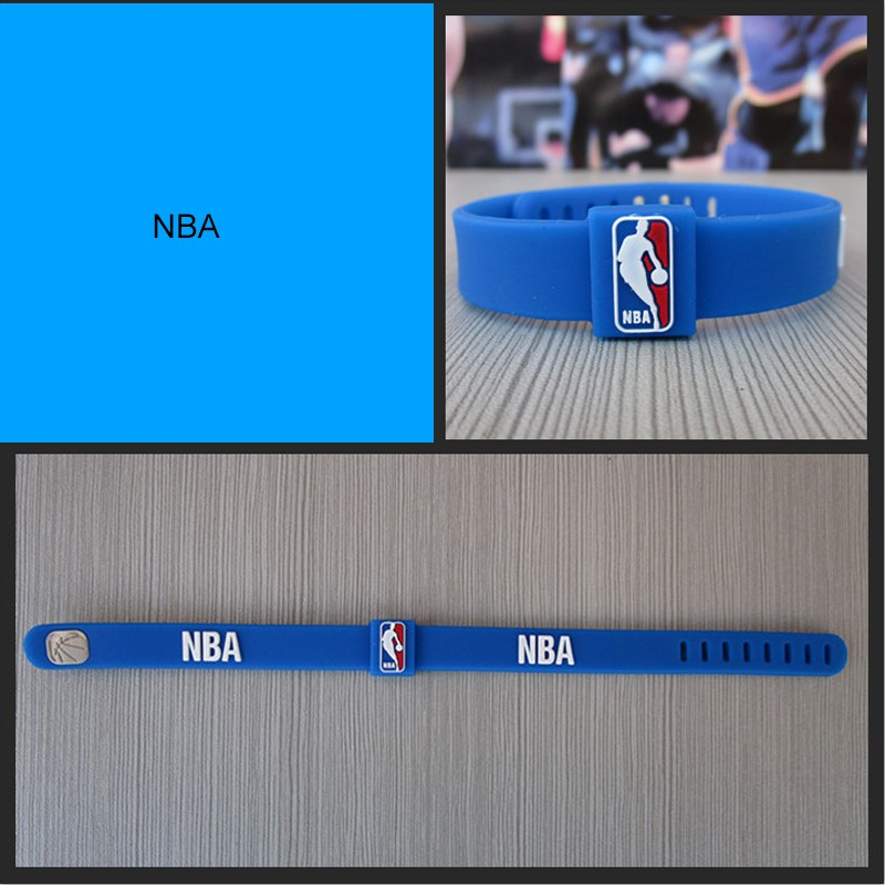 [ Buy 3 Get 1 Free ] NBA Basketball Logo Sports Wris