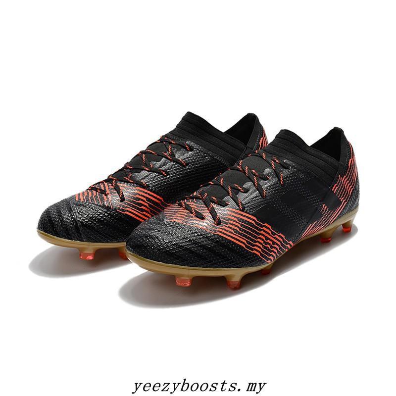 ce640242f29 Original adidas Nemeziz Messi 17.1 FG Soccer Shoes all black ...