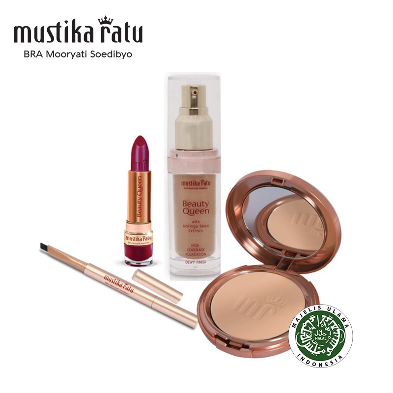 Mustika Ratu Beauty Queen Basic Make-up Set for Normal Skin